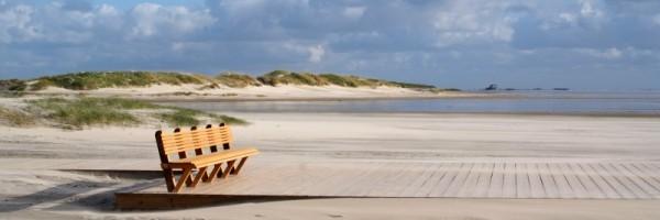 "Leinwandbild ""Nordsee Sand Bank"" small"