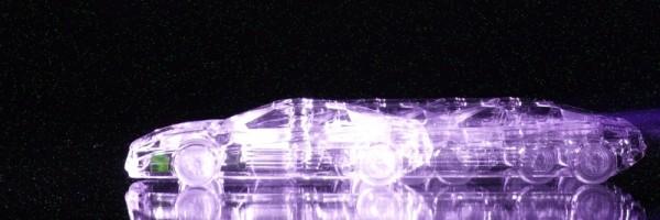 "Leinwandbild ""Glas Ferrari Lila Effect"""